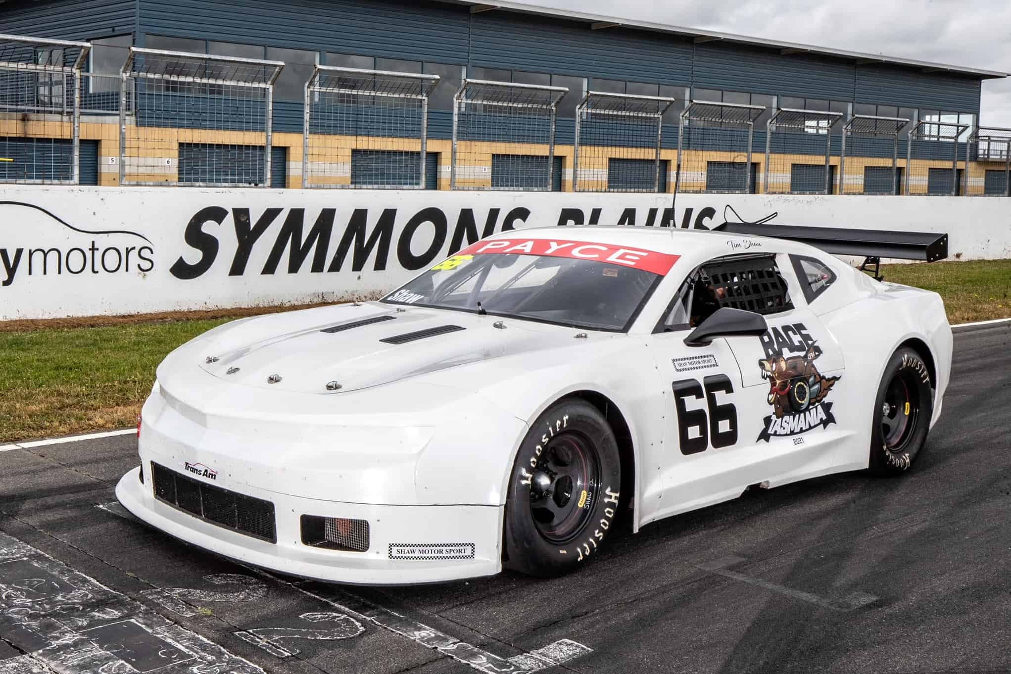 Tassie driver supporting countdown to Race Tasmania